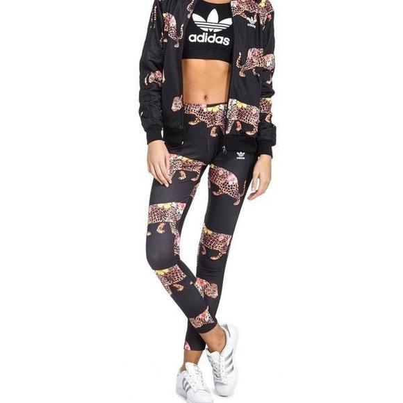 c9392164af8af adidas Pants | Nwt Originals X Farm Oncada Jaguar Leggings | Poshmark